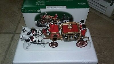 Dept 56 Dickens Village - The Queen's Parliamentary Coach