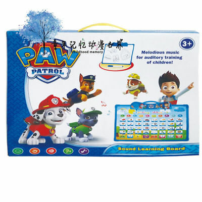 Paw Patrol Electronic Education Learning Musical Talking Board Children Kids Toy
