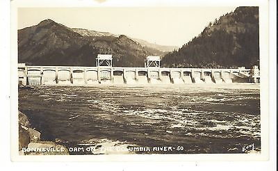 BONNEVILLE DAM ON THE COLUMBIA RIVER EDDY, RPPC, Spillway