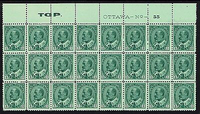 Canada, Mint, 89, Og Nh, Block/24 W/ Plate #, (1) Stamp Lh, Slight Separations