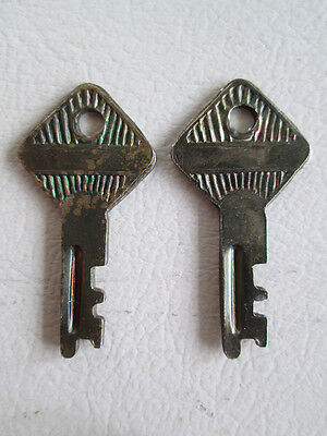 Vintage Imperial Luggage Case KEYS ONLY (LOT OF 2)