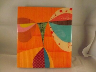 """Rex Ray  Art Collage  Lacquer On Wood Panel Board Numbered Signed 9 X 10"""""""