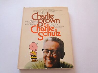 Charlie Brown & Charlie Schulz 20th Anniversary Hardcover Book 1970 2nd Printing