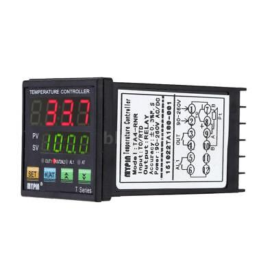 Digital LED PID Temperature Controller Thermometer RNR 1 Alarm Relay Output Y6B7