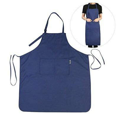 UEETEK Work Apron Working Apron Cooking Apron for Kitchen Restaurant Cafe Sup...