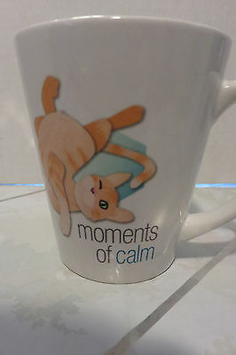 "New ""Moments of Calm"" Cat 4"" Coffee Mug"