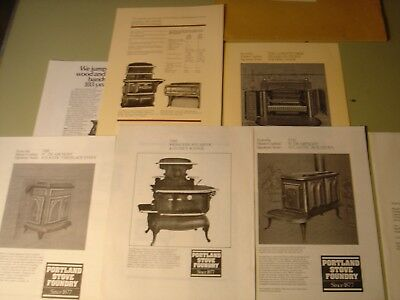 Portland Stove Foundry 1982 Box Stoves, Ranges, Heating Stoves, Literature Pack.