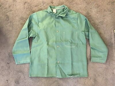 Vintage Weldas Flame Retardant Green Jackets SIZE LARGE MAKE OFFER