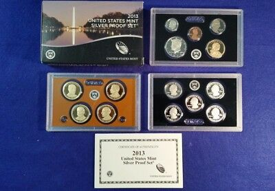2013 US Silver Proof Set in Original Mint Packaging - FREE SHIPPING