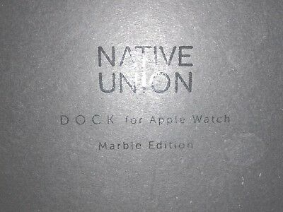 Native Union White Marble Apple Watch Stand (Limited Edition)