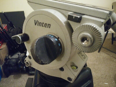 Vinten Vision 5 Professional Video Tripod and case