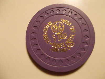 Vintage 1962 Dunes casino chip, VERY RARE