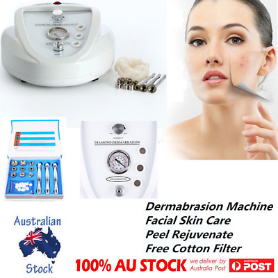 SAPPHIRE Diamond Dermabrasion Microdermabrasion System Simple Operate Machine AU