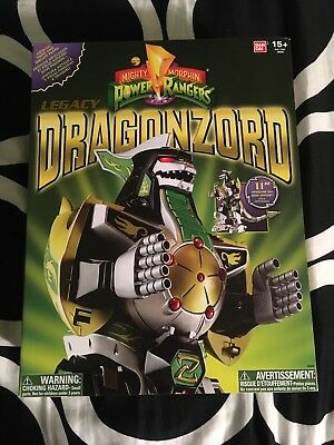 Power Rangers Legacy Edition Dragonzord Mighty Morphin New in Sealed Box
