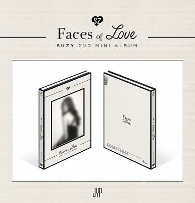 SUZY   Faces of Love (2nd Mini Album) CD+Photobook+4Postcards+Photocard+Poster