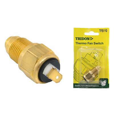 Tridon Thermo Fan Switch Tfs110 Fan On @ 85 °C - Off @ 80 °C 3/8 Bsp Brass