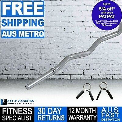 Armortech 4ft Ez Curl Barbell ***Best Seller Free Shipping***