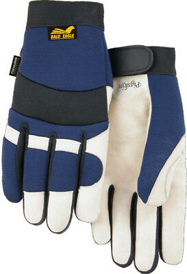 Majestic Glove 2152T Bald Eagle Thinsulate Lined Pigskin Mechanic Gloves