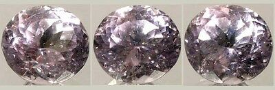 Antique 19thC Handcut Afghanistan 7½ct Pink Kunzite Gemstone Good Luck