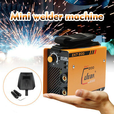 220V Portable MMA ARC Welder DC IGBT Welding Machine Soldering Inverter ZX7-200