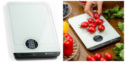 Digital Kitchen Food Scale 5kg/11Lb LCD Electronic Weighing Baking Postal Glass