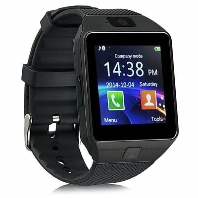 DZ09 Bluetooth Smart Watch Phone Camera SIM For Android IOS Phone Men Women