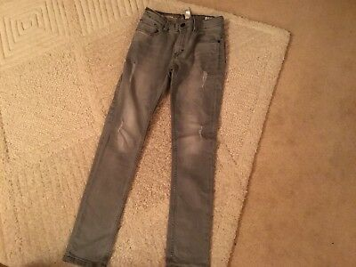 Boys Next Grey Jeans Super Skinny Age 13