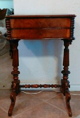 Sewing table early american 1700-1800