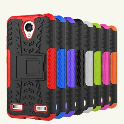 Heavy Duty Tough Strong Case Cover For Telstra 4GX Enhanced / ZTE Blade A520