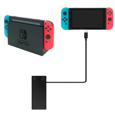 Charger and Dock Extender Cable for Nintendo Switch smartphone, PC w/ USB-C port