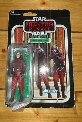 Star Wars Vintage Collection The Phantom Menace Naboo Royal Guard VC83