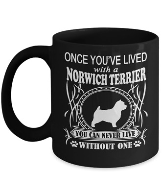 Once You've Lived with a NORWICH TERRIER Mug