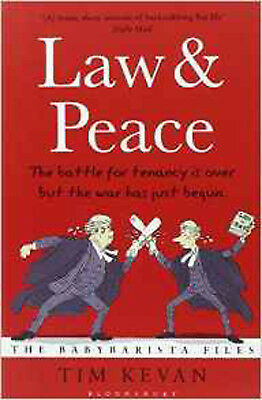 Law and Peace: The BabyBarista Files (Baby Barista Files 2), New, Kevan, Tim Boo