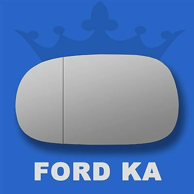 Ford Ka Mk2 2009-2016 left passenger near side convex wing mirror glass