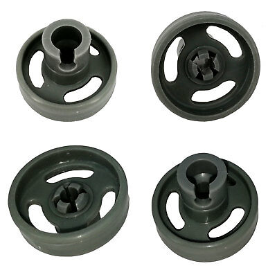 Free Postage!! 4X Dishwasher Lower Basket Wheel For Fisher & Paykel H0120200964