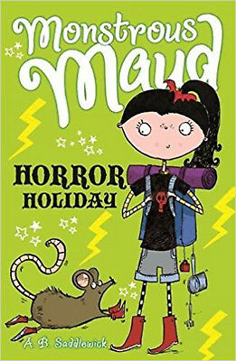 Monstrous Maud: Horror Holiday, New, Saddlewick, A. B. Book