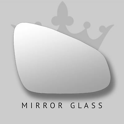 Citroen C3 Picasso wing door mirror glass 2008-2016 Right side with Blind Spot