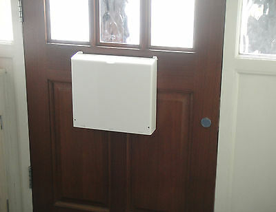 Letterbox Cage Post Mail Guard Letter Catcher Protector