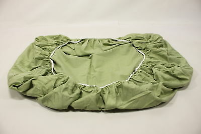 3ef172fd6b9 SheetWorld Fitted Sheet (Fits BabyBjorn Travel Crib Light) - Solid Sage  Jersey K