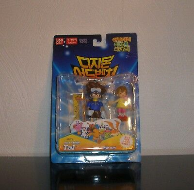 Digimon Figuren Tai & Kari OVP Digiritter Digidestined Staffel 1 Adventure Figur