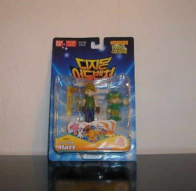 Digimon Figuren Matt & T.K. OVP Digiritter Digidestined Staffel 1 Adventure