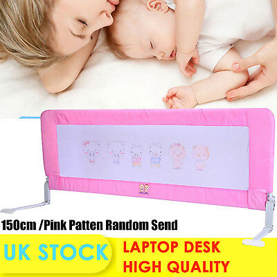 150cm Baby Child Toddler Bed Rail Safety Protection Guard Folding Pink Sale  !!!