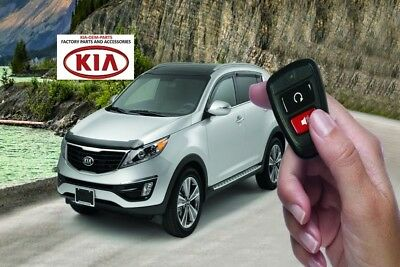 2014 2015 2016 KIA Sportage Remote Start For Key Start Model New Genuine Kia OEM
