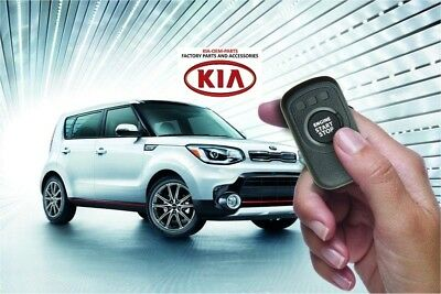 Genuine 2016 Kia Soul Remote Start Kit (Key Start Model) B2F60 Aq501