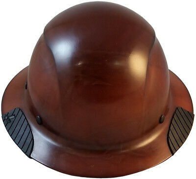 """LIFT"" DAX Composite Fiberglass Full Brim Hard Hats Ratchet Suspension 3 Colors"