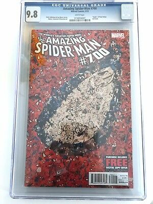 Amazing Spider-man Vol # 1 Issue # 700 CGC 9.8 Marvel Dynamic Forces Collage KEY