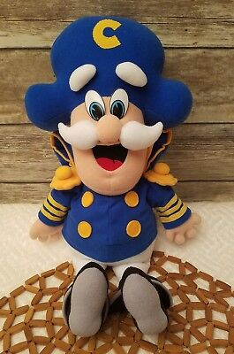 Captain Crunch Plush Doll 1992 The Quaker Oats Company Stuffed Pellets Toy
