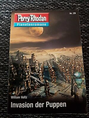 Perry Rhodan Planetenromane, Nr. 29, Invasion der Puppen - William Voltz