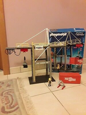 PLAYMOBIL City action 5254(Kran)+5259(Zubehör)+Jeep BM Turbo