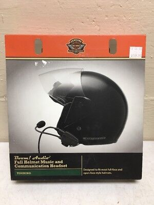Harley-Davidson Boom! Audio FULL Helmet Music & Communication Headset